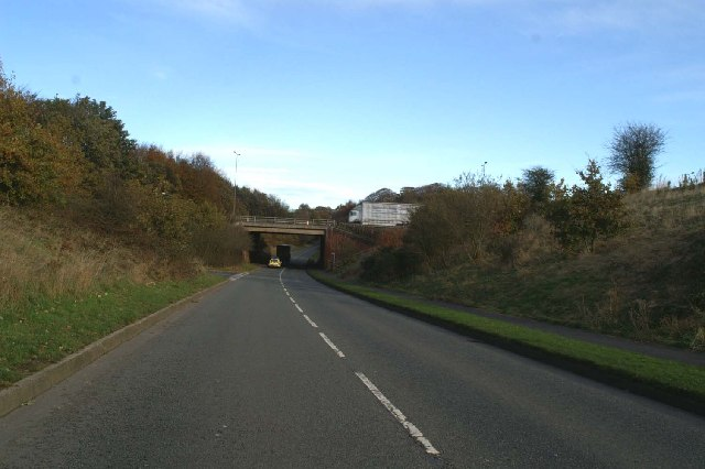 Bridge under the M6, near Maintenance Access, left