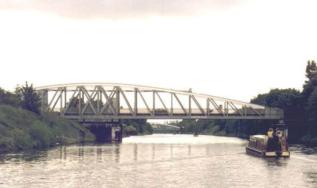 Chester Road Swing Bridge over the Manchester Ship Canal