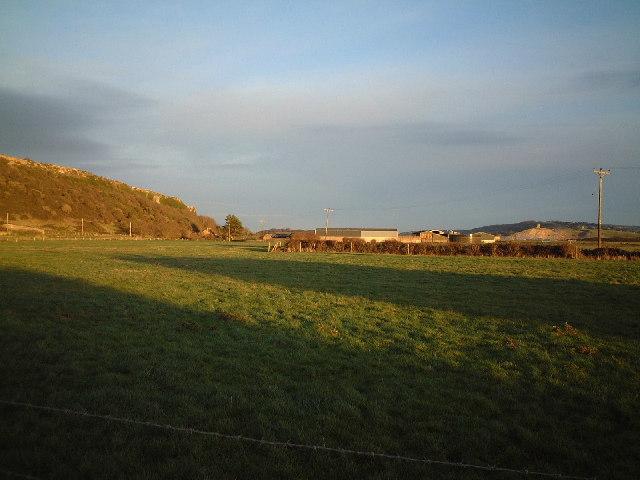 Brean Down farm