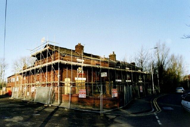 Demolition begins on 232 - 240 Warrington Road