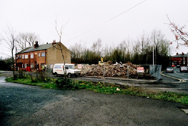 The remains of 232-240 Warrington Road