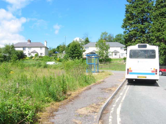 Bus Terminus in Pontsticill
