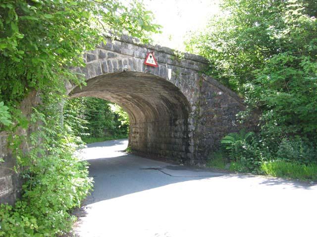 Railway bridge between Pontsticill and Pant