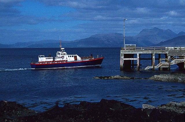 Armadale Pier, Isle of Skye
