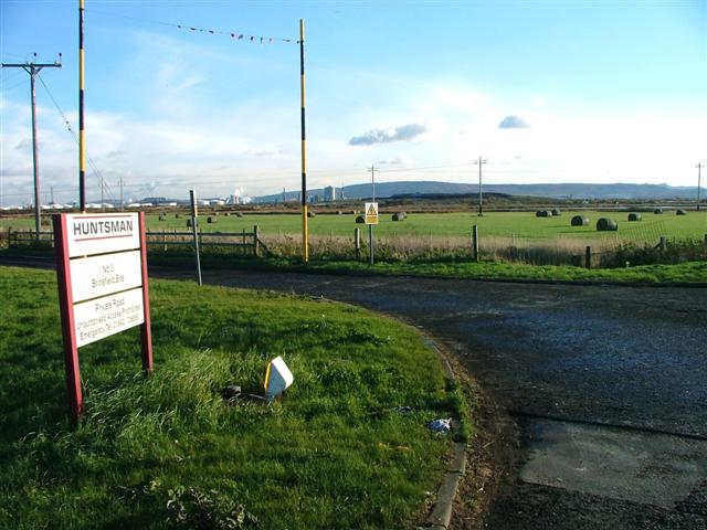 View South East Towards the Eston Hills