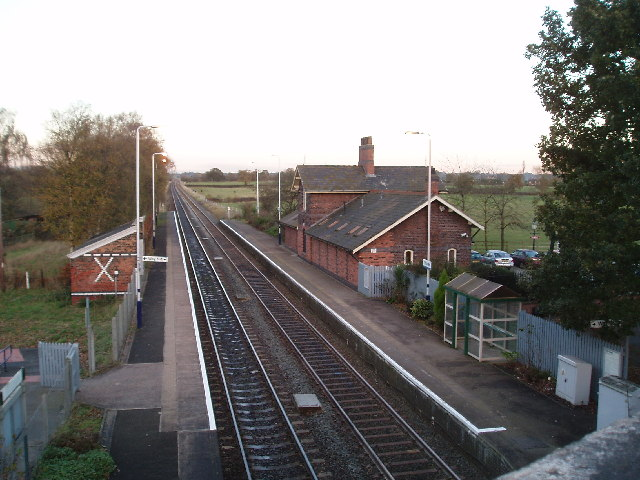 Plumley Railway Station