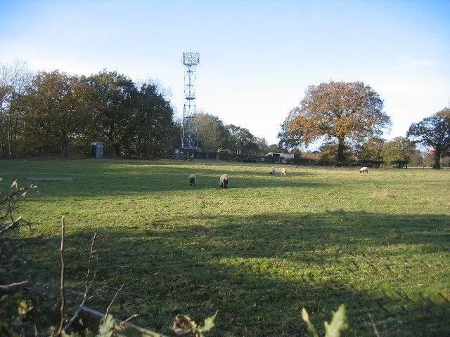 Mobile 'phone mast, Dicken's Heath