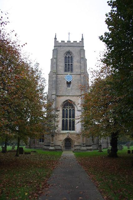 St.Mary's church, Pinchbeck, Lincs.