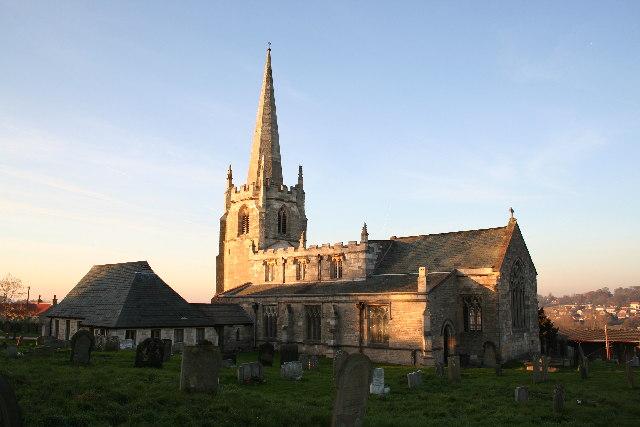 St.James church, South Anston