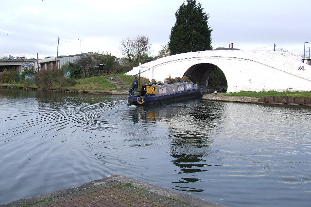 Bulls Bridge Junction on the Grand Union Canal