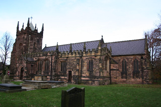St.Mary Magdalene's church, Whiston