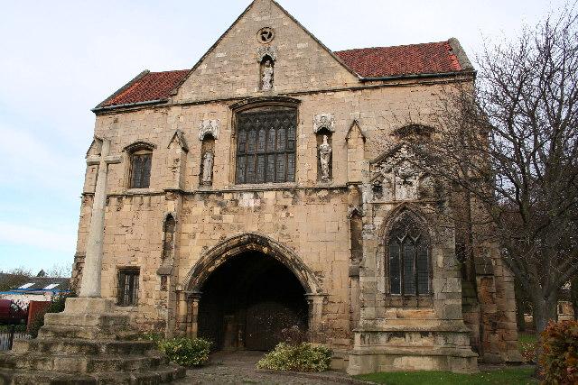 Worksop Priory Gatehouse
