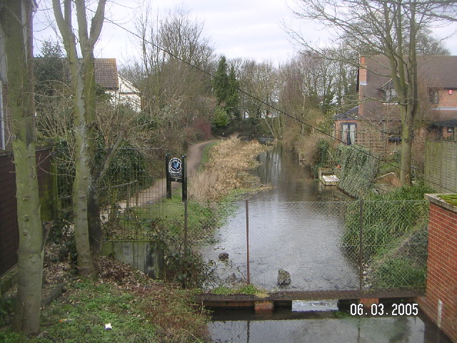 The end (or beginning) of the Wendover Arm of the Grand Union Canal in Wendover