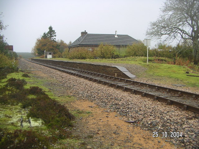 Britain's most isolated railway station - Altnabreac