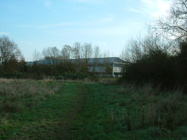 Footpath behind Northolt Aerodrome