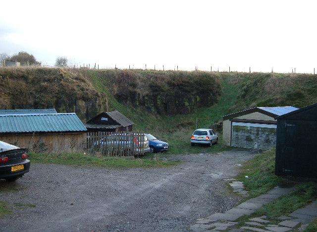 Disused quarry, Slack Lane, near Delph