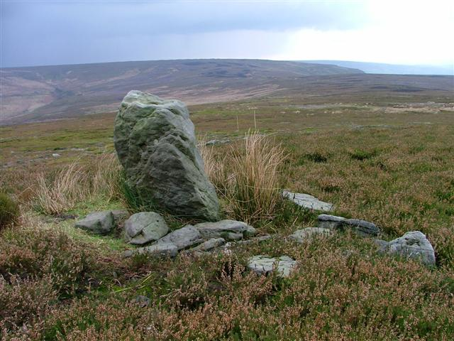 Boundary stone, Howdale Hill