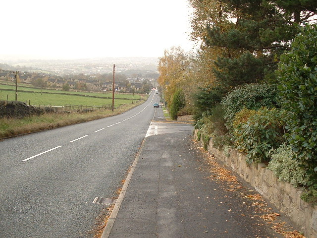 towards Kirkheaton