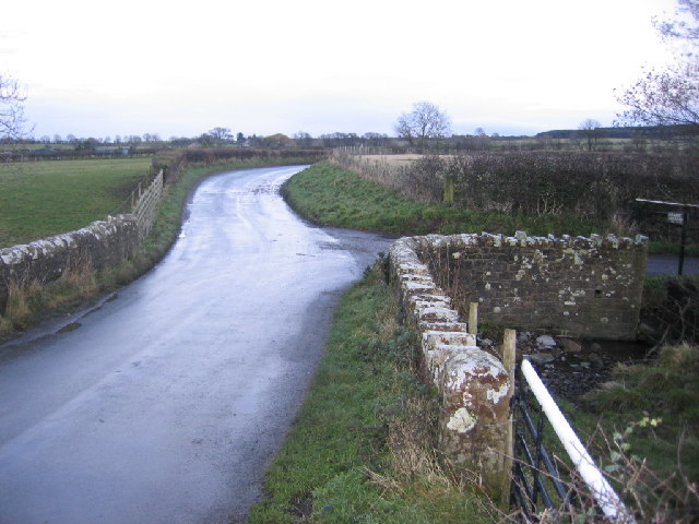 Beck Bridge at farms entrance.