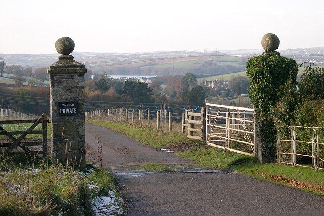 Gateway to Warleigh House