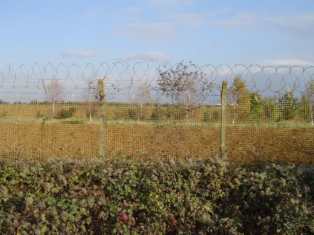 A47(T), Wittering airfield perimeter fence