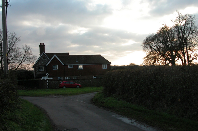 Woodhouse, at the junction of unclassified roads, near Finchdean.
