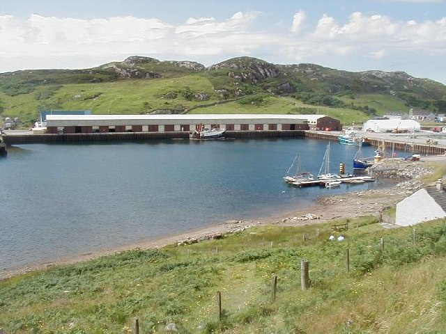 The Fish Market at Kinlochbervie