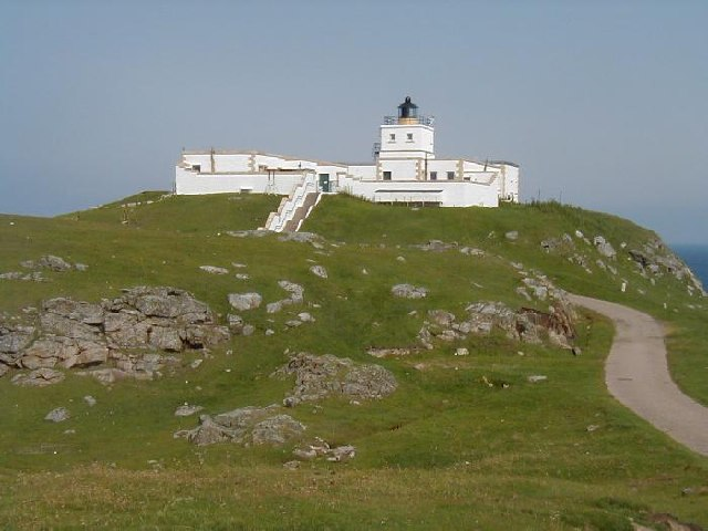 The Light House at Strathy Point