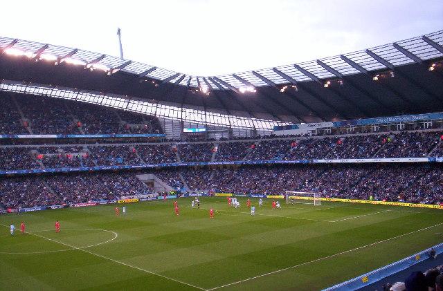 City of Manchester Stadium, Matchday