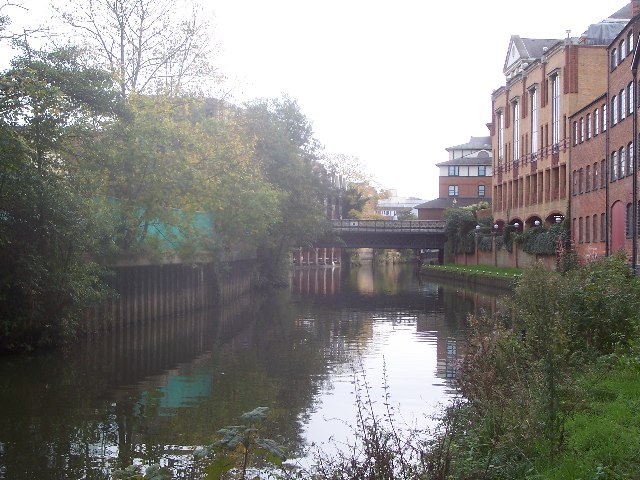 River Wey in Guildford