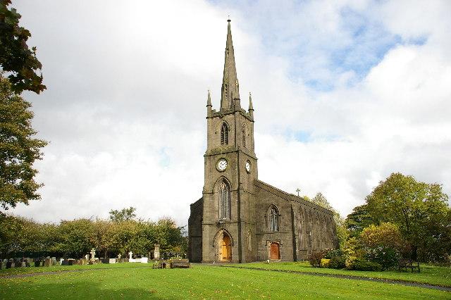 St Anne's Parish Church Turton