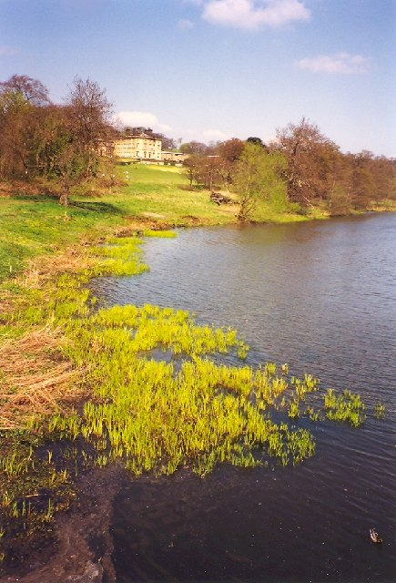 Bretton Hall and Lower Lake