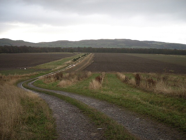 Track in Carse of Gowrie