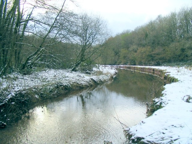 Bend in the river Cennen