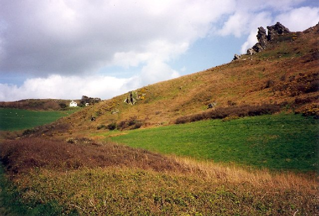 Hazel Tor, near Soar Mill Cove, Malborough