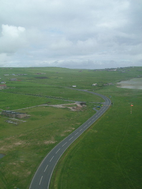 Take off from Sumburgh