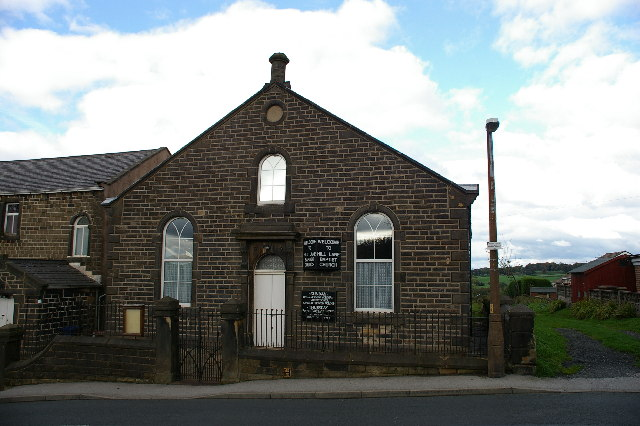 Hill Lane Baptist Church, Lane Bottom, Burnley