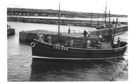 Seine Net Trawler Hopeman 1958