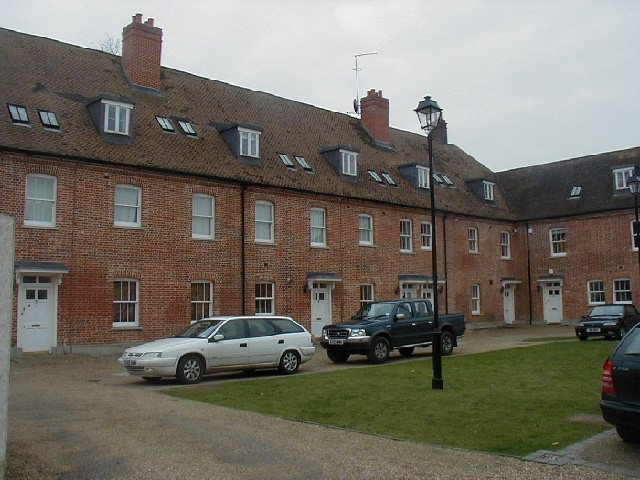 The former Blything Union Workhouse at Bulcamp