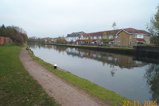 Grand Union Canal: near Croxley Common Lock