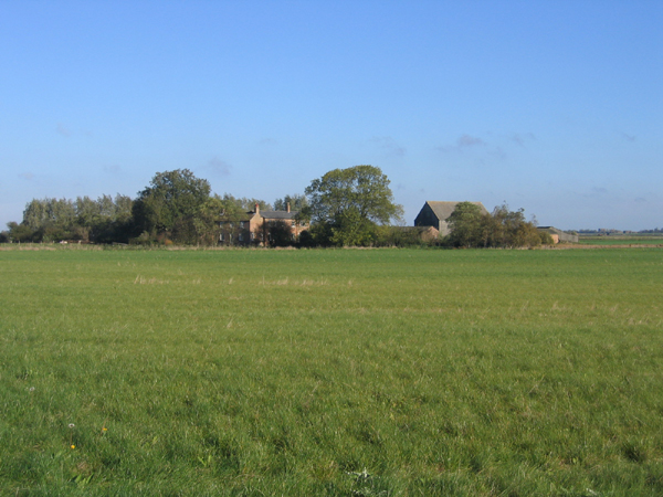 Fenland farm, Eye Green, Peterborough