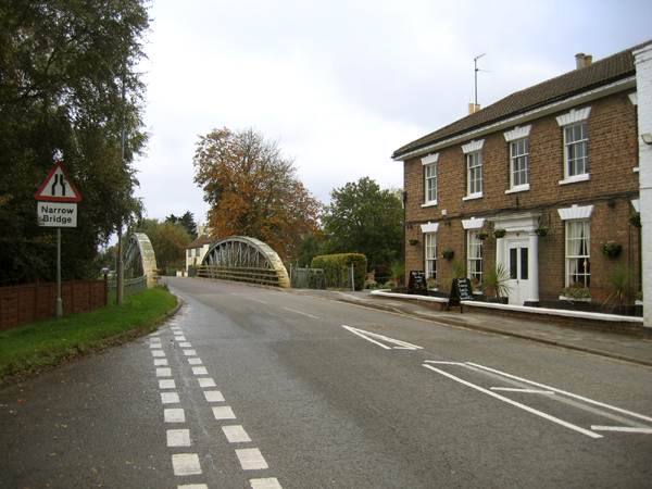 Bridge over the River Glen, Surfleet, Lincs