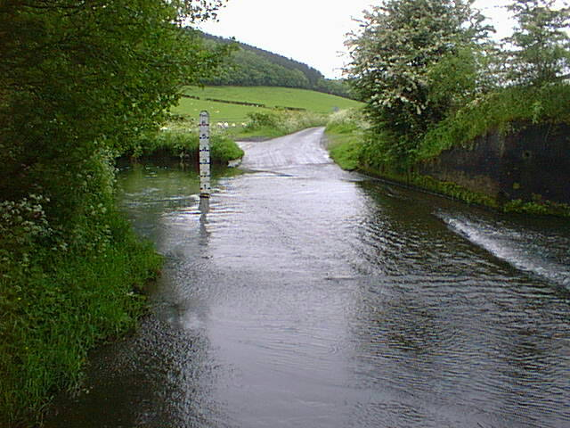 The ford at Strefford