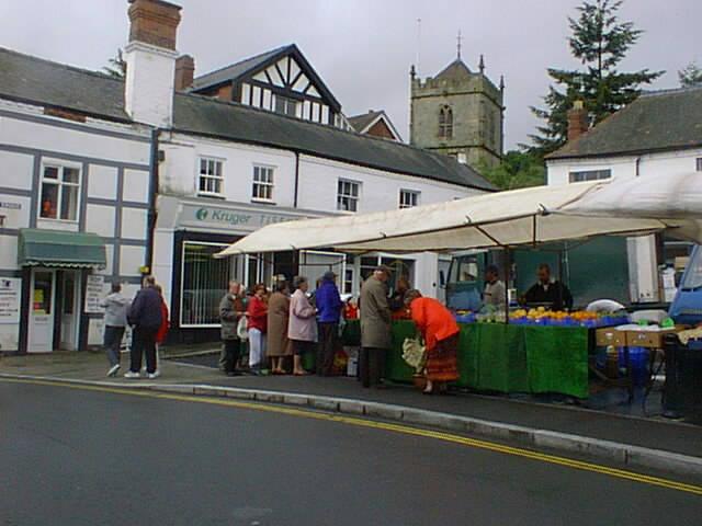 The market at Church Stretton