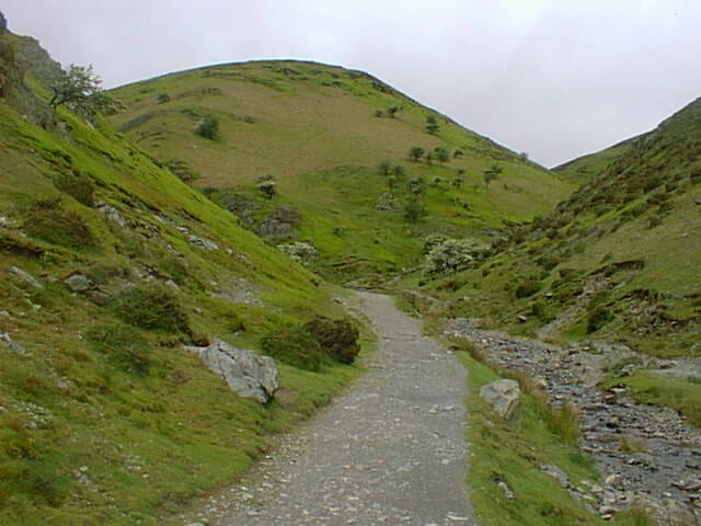 Along the Carding Mill Valley near Church Stretton