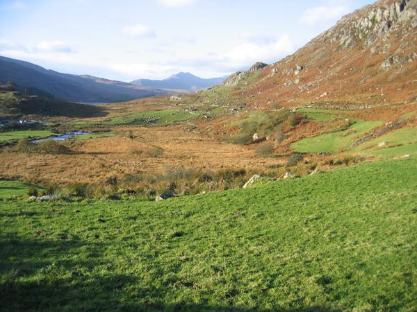 Nant Gwryd valley, Capel Curig, Conwy