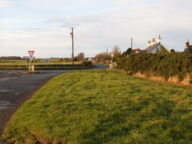 Spalefield cross roads