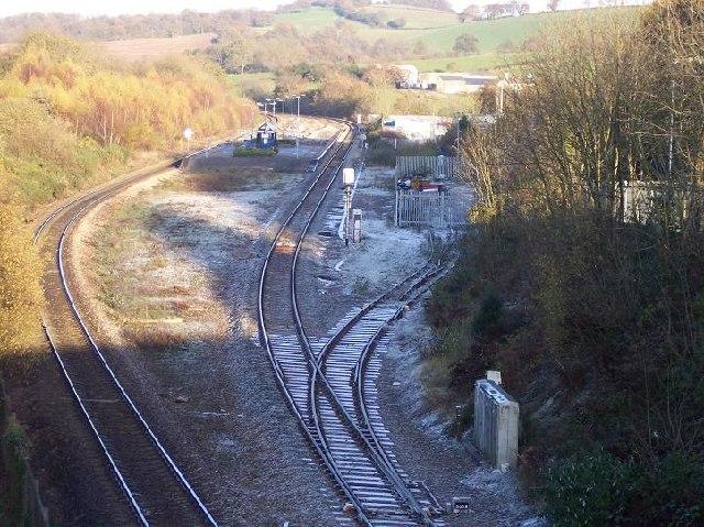 Pontypool & New Inn station, Monmouthshire