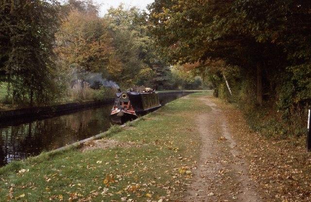 Llangollen Canal between Pentre and Froncysyllte