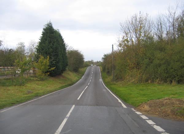 Fenn Lane Roman Road north of Dadlington, Leics